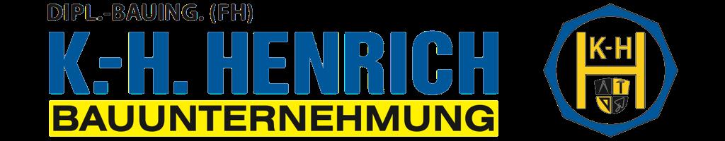Bauunternehmung Dipl.-Bauing. (FH) Karl-Heinz Henrich